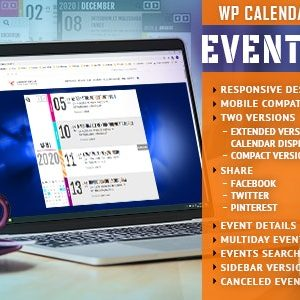 JUAL EventZilla - Event Calendar - Addon For WPBakery Page Builder