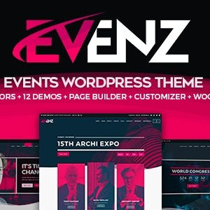 JUAL Evenz - Conference and Event WordPress Theme