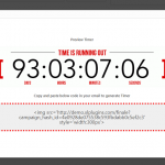 Finale Email Countdown Timer