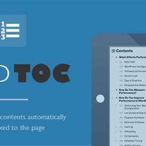 JUAL Fixed TOC - Table of Contents for WordPress Plugin