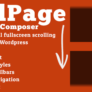 JUAL FullPage for WPBakery Page Builder