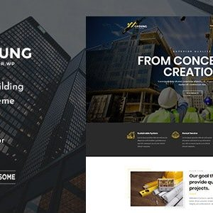 JUAL Gedung - Contractor & Building Construction Theme