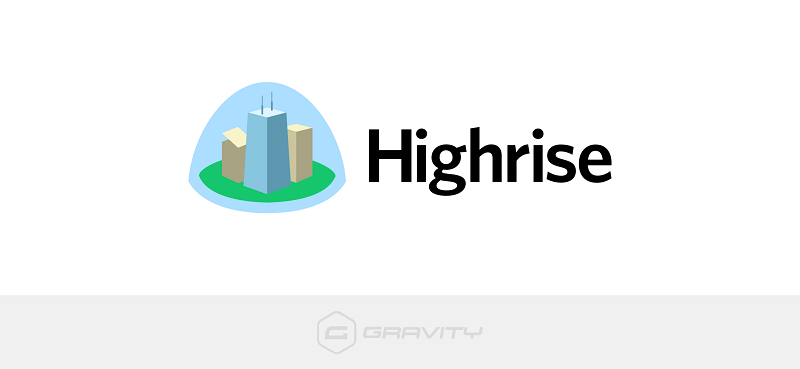 JUAL Gravity Forms Highrise Add-On