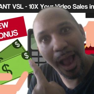 JUAL Instant VSL - Generate The Perfect Video Sales Letter Web-page in About 30 Seconds
