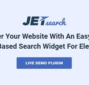 JUAL JetSearch - Elementor Experience the true power of search functionality