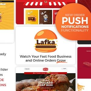JUAL Lafka - WooCommerce Theme for Burger & Pizza Delivery