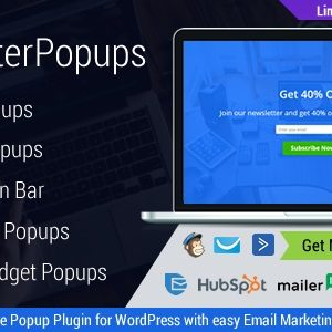 JUAL Master Popups - WordPress Popup Plugin for Email Subscription
