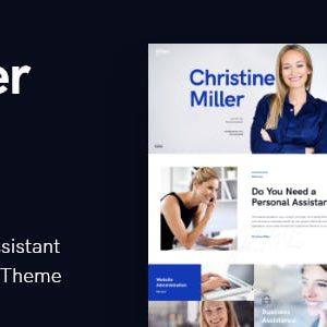 JUAL Miller - Personal Assistant & Administrative Services WordPress Theme