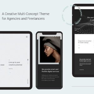 JUAL Monni - A Creative Multi-Concept Theme for Agencies and Freelancers