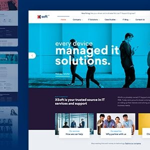 JUAL Nanosoft - WP Theme for IT Solutions and Services Company