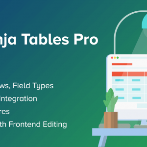 JUAL Ninja Tables Pro - The Fastest and Most Diverse WP DataTables Plugin