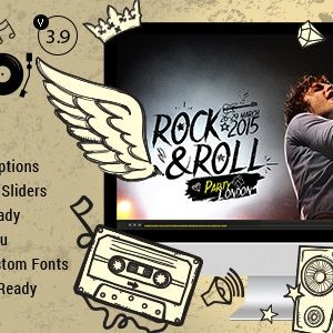 JUAL Odio - Music WP Theme For Bands