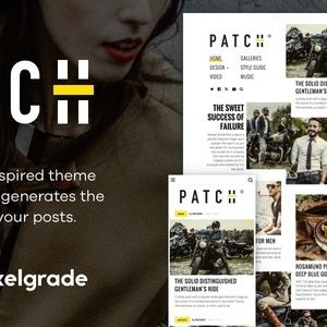 JUAL Patch - Unconventional Newspaper-Like Blog Theme