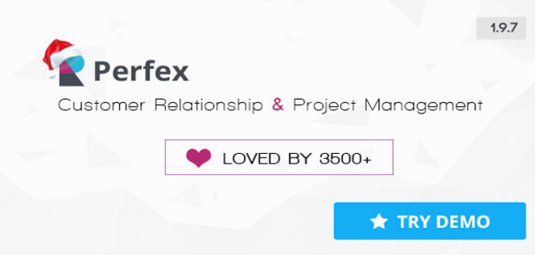 JUAL Perfex + 4 Addons - Powerful Open Source CRM Perfex