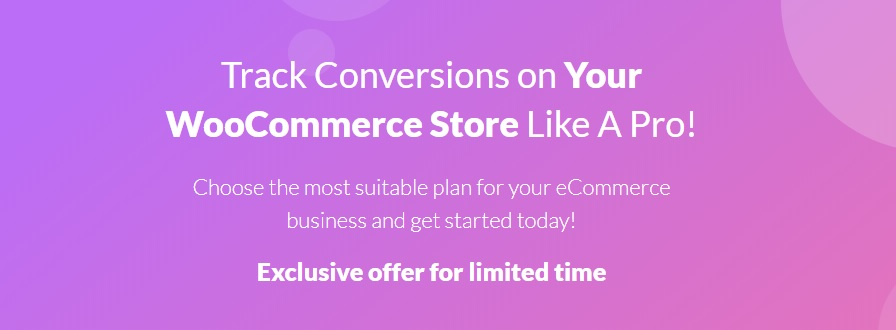 JUAL Pricing - WooCommerce Conversion Tracking