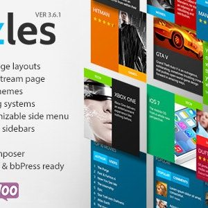 JUAL Puzzles - WP Magazine / Review with Store WordPress Theme + RTL