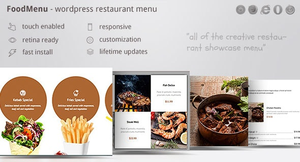 JUAL Restaurant Menu Showcase Pack for WPBakery Page Builder ( formerly Visual Composer )