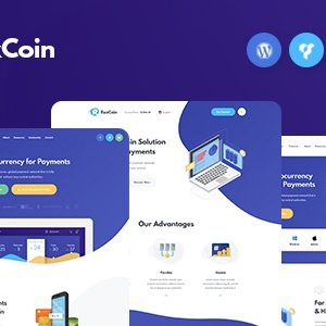 JUAL RexCoin - A Multi-Purpose Cryptocurrency & Coin ICO WordPress Theme