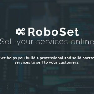 JUAL RoboSet - Sell your services online
