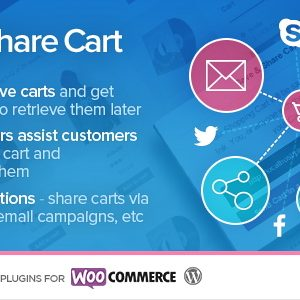 JUAL Save & Share Cart for WooCommerce