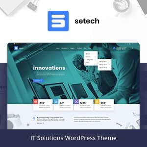JUAL Setech - IT Services and Solutions WordPress Theme