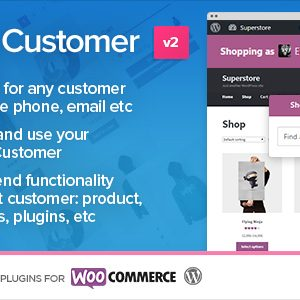 JUAL Shop as Customer for WooCommerce