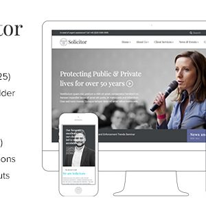 JUAL Solicitor - Law Business Responsive WordPress Theme