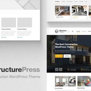 JUAL StructurePress - Construction and Architecture WordPress Theme