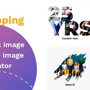 JUAL TFClipping Mask AddOns Image for Elementor