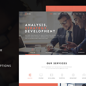 JUAL The Business - Powerful One Page Biz WP Theme