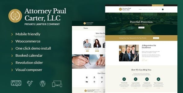 JUAL The Law - A Classic Legal Advisers & Attorneys WordPress Theme