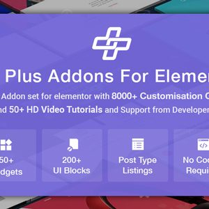 JUAL The Plus Addons for Elementor - Most Popular Elementor Addons