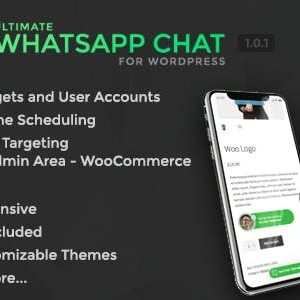 JUAL Ultimate WhatsApp Chat Support for WordPress
