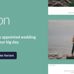 JUAL Union - Wedding and Event WordPress Theme for Variant & Visual Composer
