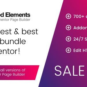JUAL Unlimited Elements for Elementor Page Builder