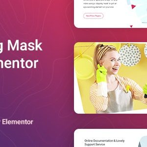 JUAL Videor - Video Clipping Mask for Elementor