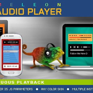 JUAL Visual Composer Addon - Chameleon Audio Player for WPBakery Page Builder