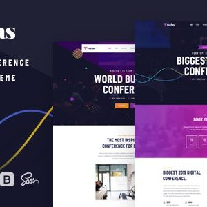 JUAL Voelas - Event & Conference WordPress Theme