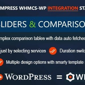 JUAL WHMCS Pricing Sliders and Comparison Tables - WHMpress Addon