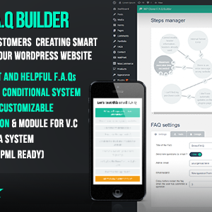 JUAL WP Clever FAQ Builder - Smart support tool for Wordpress