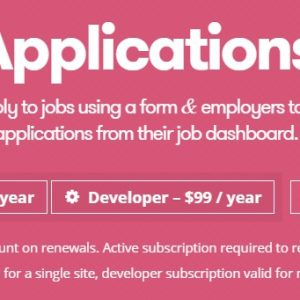 JUAL WP Job Manager Applications Add-on