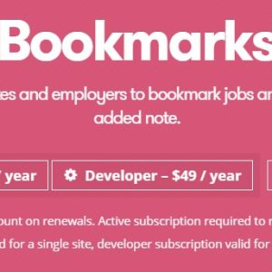 JUAL WP Job Manager Bookmarks Add-on