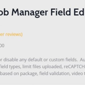 JUAL WP Job Manager Field Editor Add-on