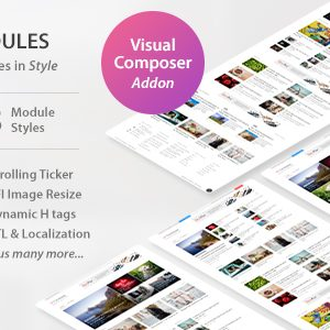 JUAL WP Post Modules for NewsPaper and Magazine Layouts