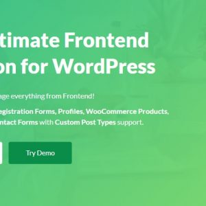 JUAL WP User Frontend Pro Business - Ultimate Frontend Solution For WordPress
