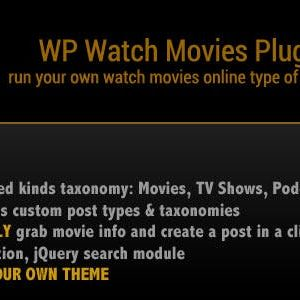 JUAL WP Watch Movies & TV Shows Online