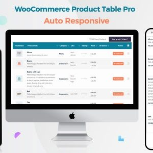 JUAL Woo Product Table Pro - WooCommerce Product Table view solution