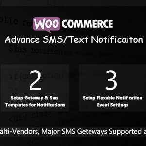 JUAL WooCommerce Advance SMS/Text Notification