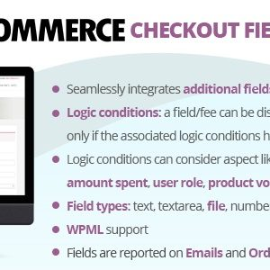 JUAL WooCommerce Checkout Fields & Fees