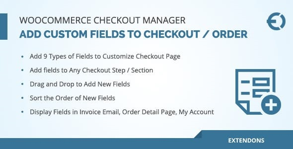 JUAL WooCommerce Checkout Fields Manager